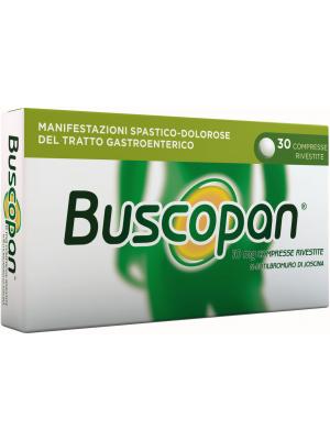 BUSCOPAN 30 COMPRESSE RIVESTITE 10MG