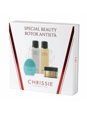 CHRISSIE SPECIAL BEAUTY BOTOX ANTIETA' 1 CREMA DETERGENTE 150 ML + 1 TONICO MINERALIZZANTE 150 ML + 1 MASCHERA BOTOX LIKE 50 ML + 1 CINDY