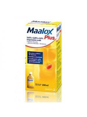 MAALOX PLUS SOSPENSIONE 250 ML
