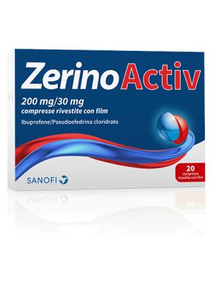ZERINOACTIV 20 COMPRESSE 200MG + 30MG